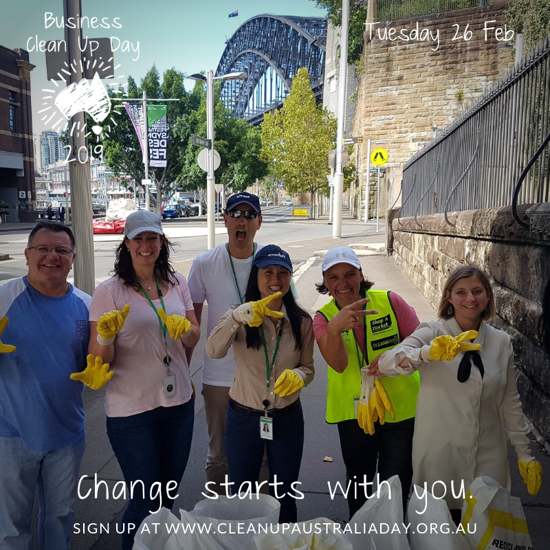 Clean Up Australia Day 2019