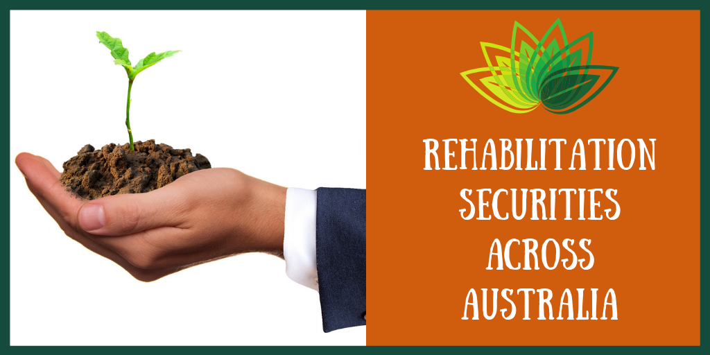 Rehabilitation Securities Across Australia