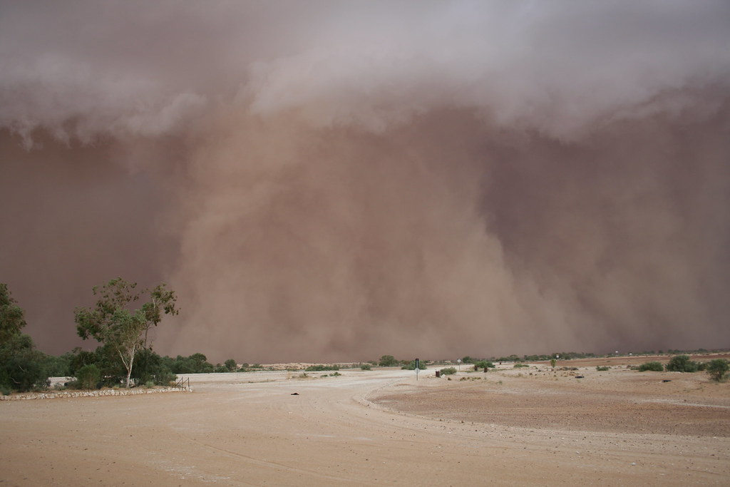 Dust Storm Wind Erosion