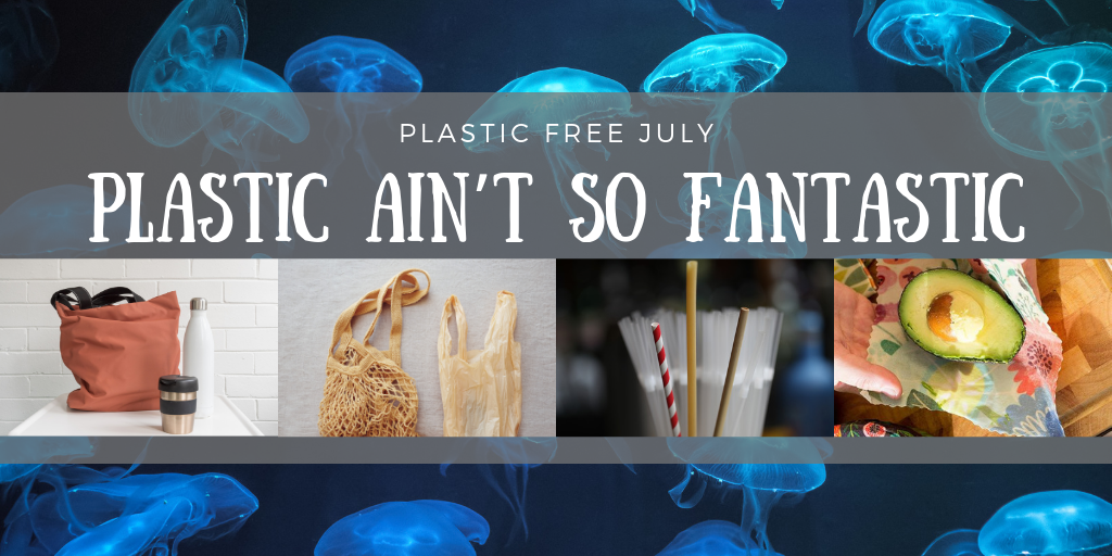 Plastic Ain't So Fantastic – Plastic Free July