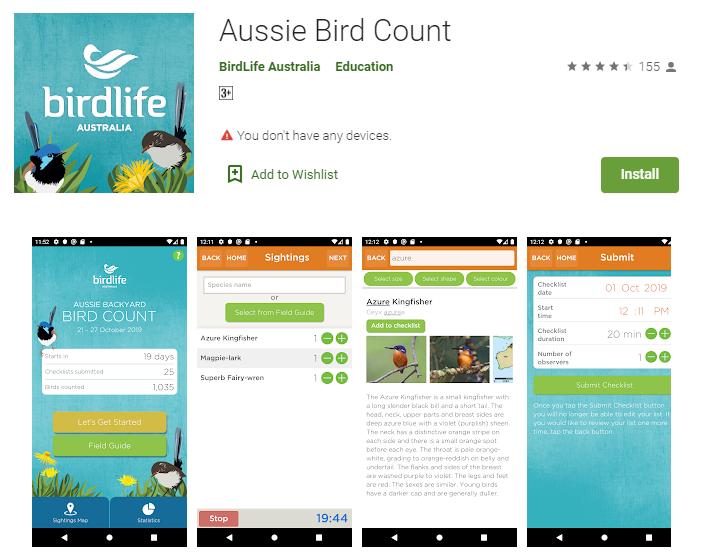 Aussie Bird Count on Google Play
