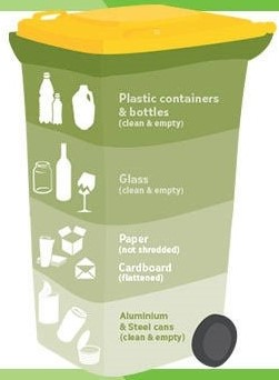 Recycling Bin Contents
