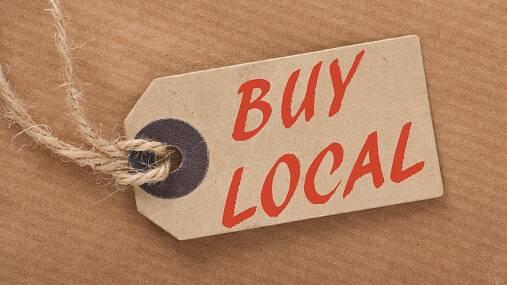 Text Box:  Buy Local