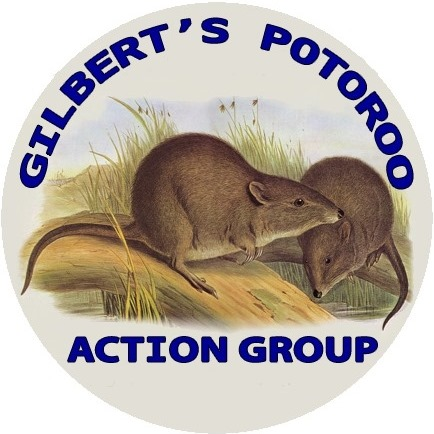 Gilbert's Potoroo Action Group Logo