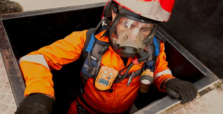 Confined Spaces Worker
