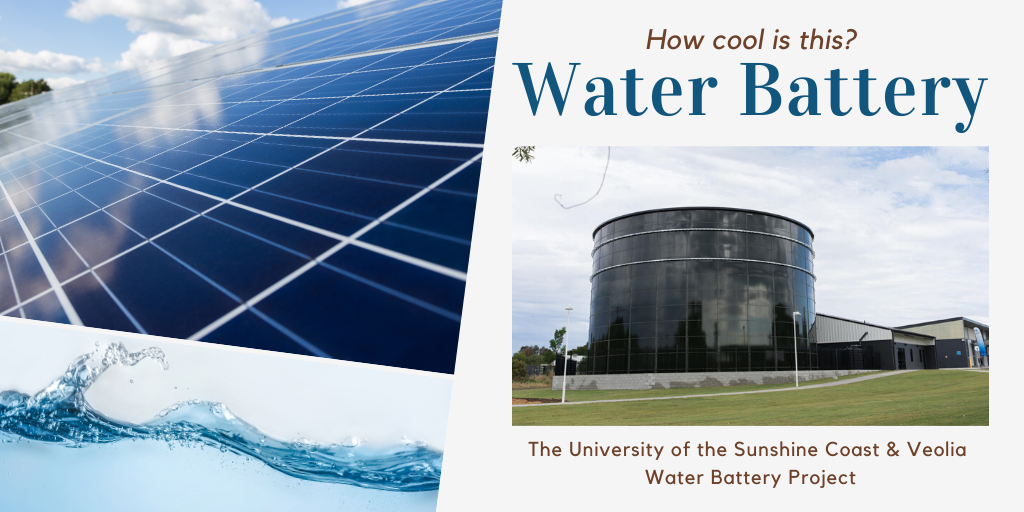 How cool is this – Water Battery