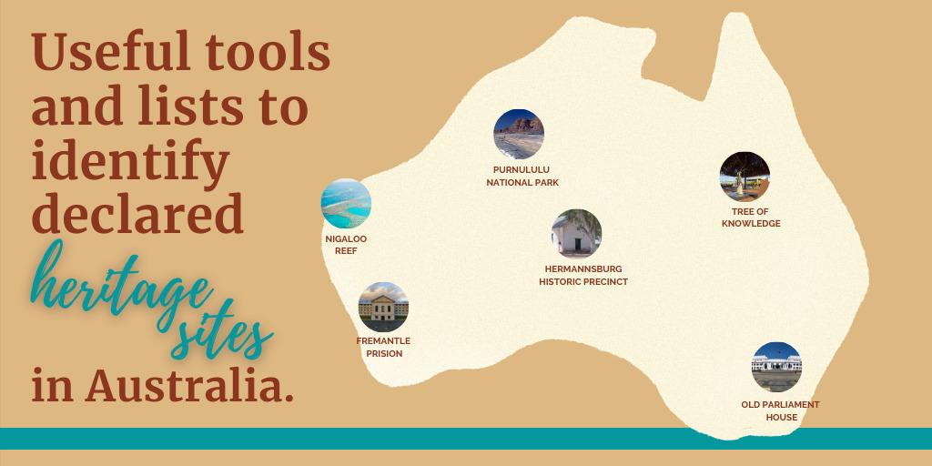Australian Heritage Databases & Listings