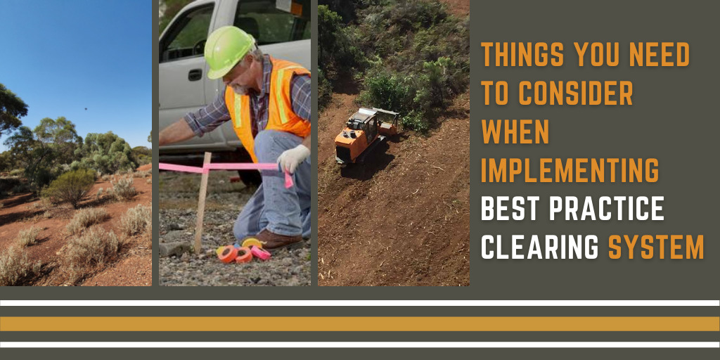 Best Practice: Clearing of Native Vegetation